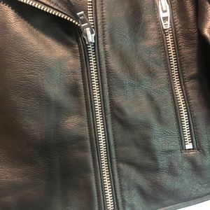 BLANK NYC Blk Leather Jacket.  NWT $30